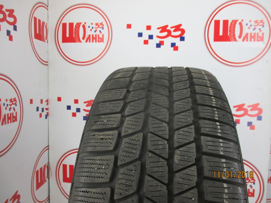 Б/У 245/45 R18 Зима CONTINENTAL C.Winter Contact TS-810S RSC Кат. 3