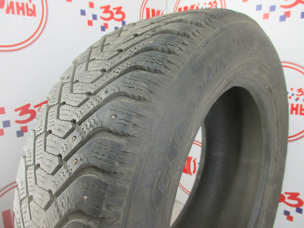 Б/У 255/60 R18 Зима Шипы  GOODYEAR Ultra Grip-500 Кат. 5