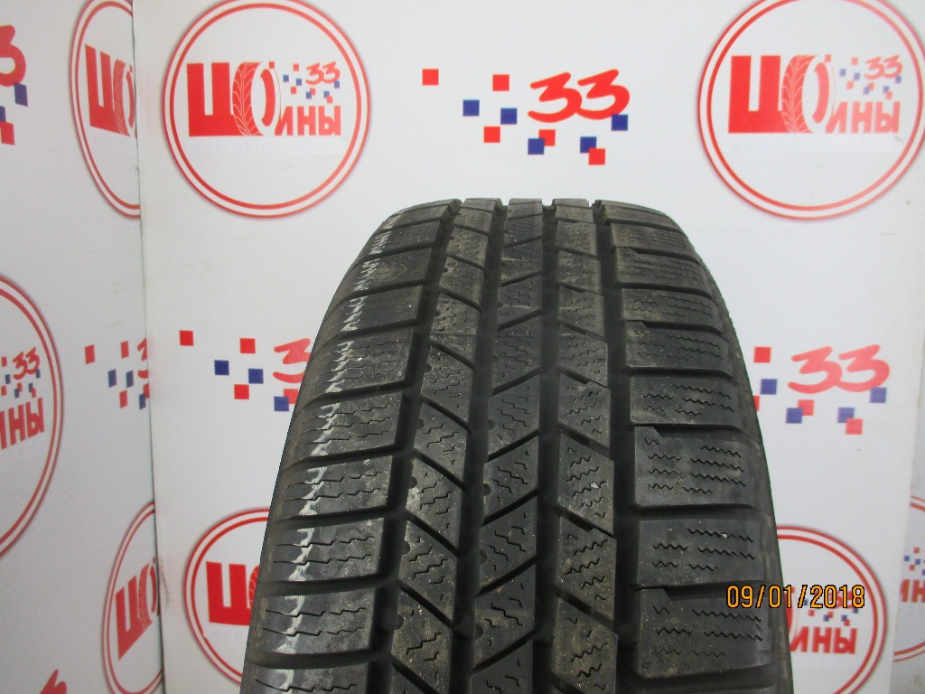 Б/У 235/60 R17 Зима CONTINENTAL C.Cross Contact Winter Кат. 5