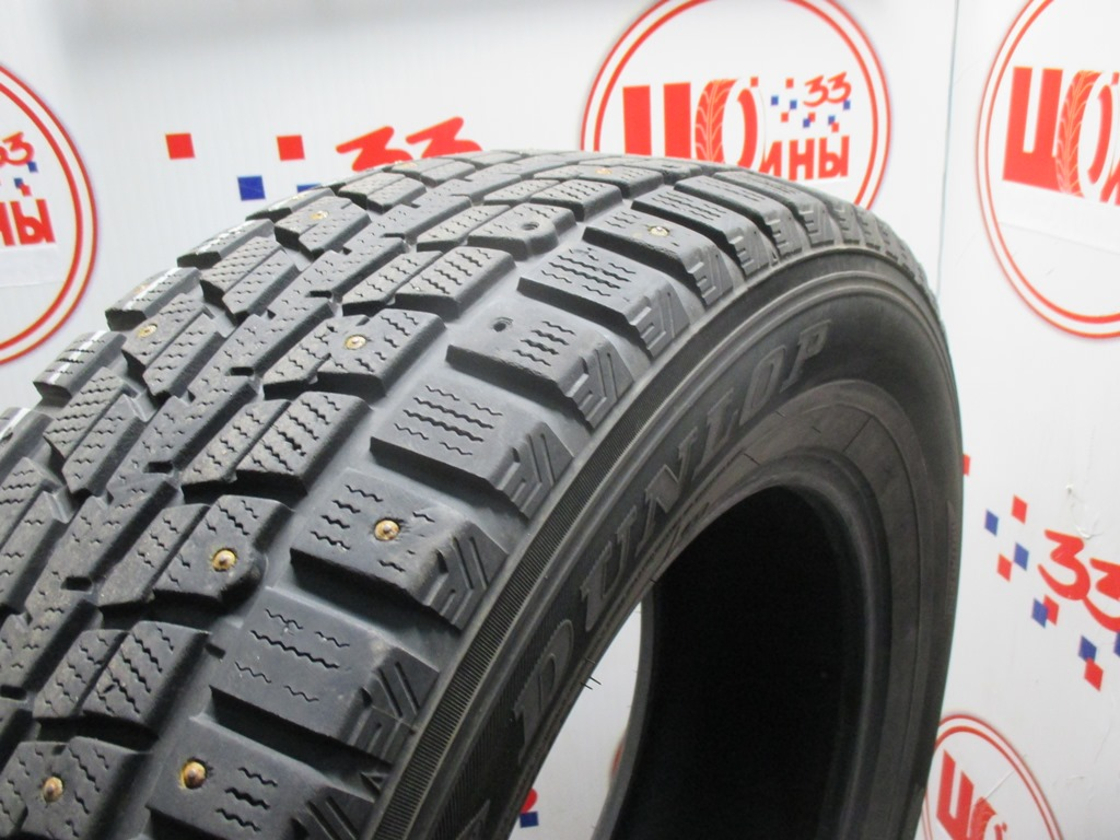 Б/У 235/65 R17 Зима Шипы  DUNLOP SP Winter Ice-01 Кат. 4