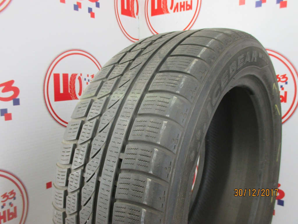 Б/У 235/55 R17 Зима HANKOOK Ice Bear W-300 Кат. 5