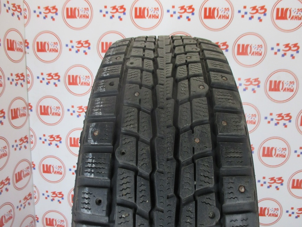 Б/У 215/60 R17 Зима Шипы  DUNLOP SP Winter Ice-01 Кат. 4
