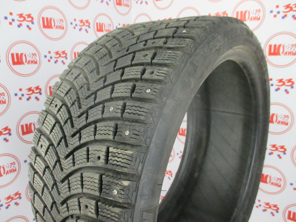 Б/У 255/35 R19 Зима Шипы  MICHELIN X-Ice North-2 Кат. 4