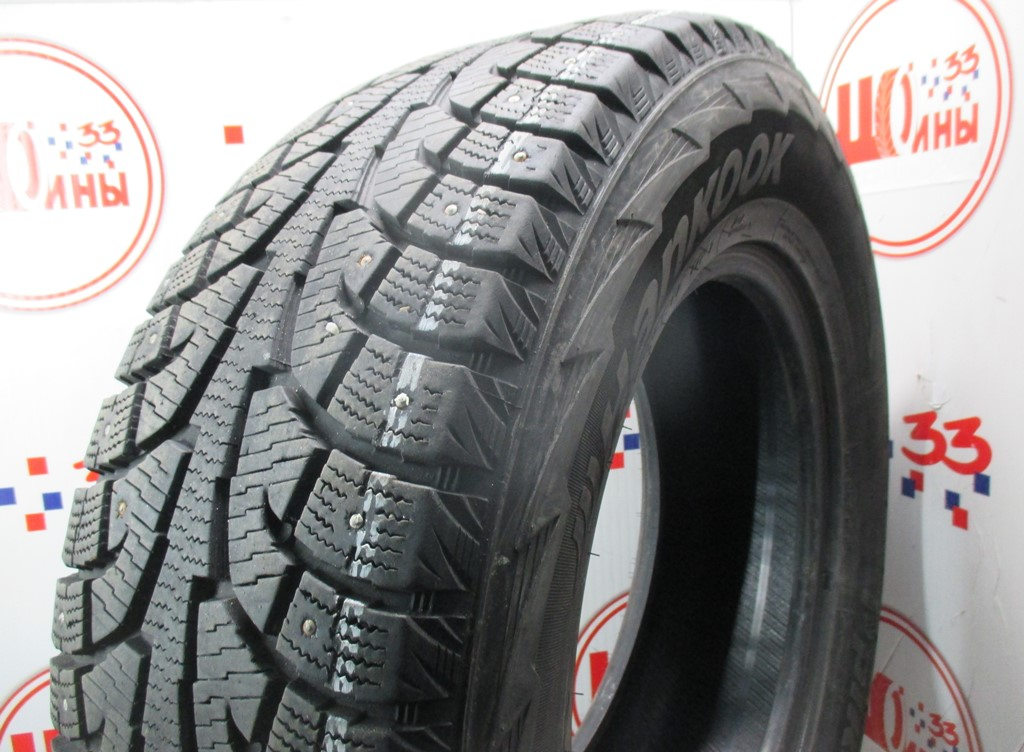Б/У 265/65 R17 Зима Шипы  HANKOOK Winter I*Pike RW-11 Кат. 3