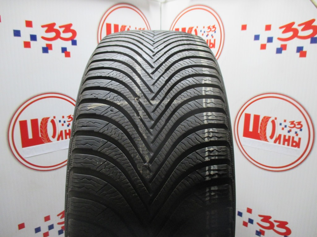 Б/У 215/55 R17 Зима MICHELIN Alpin A-5 Кат. 3