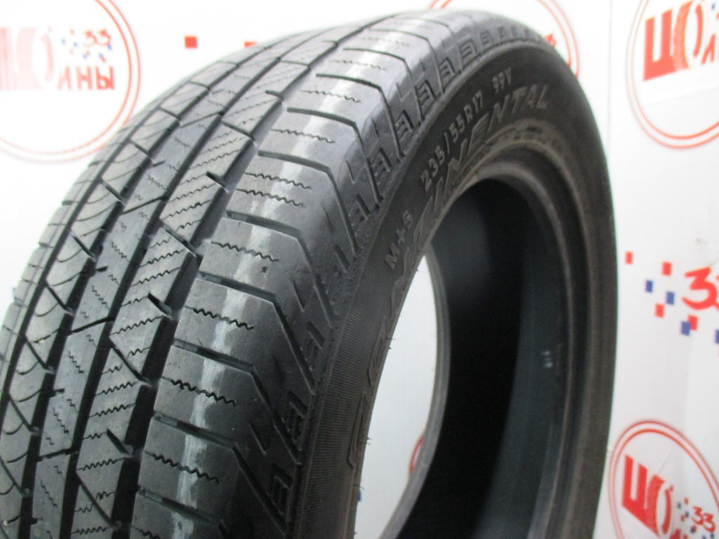 Б/У 235/55 R17 Лето CONTINENTAL C.Cross Contact LX Sport Кат. 4