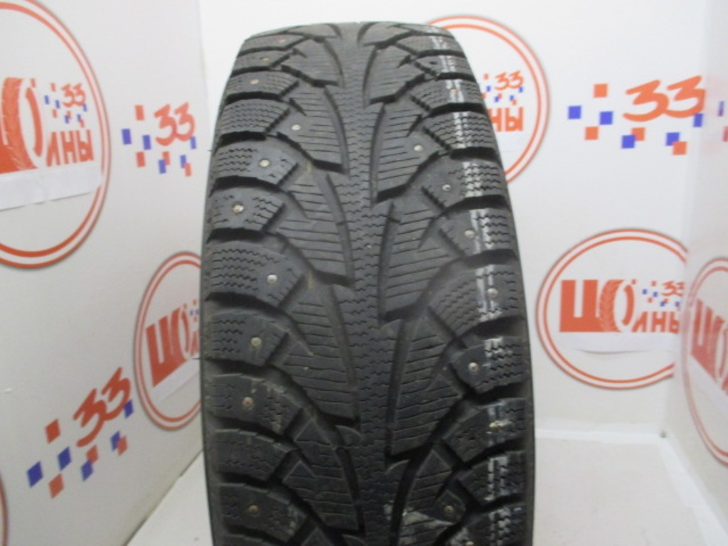 Б/У 185/65 R15 Зима Шипы  HANKOOK Winter I*Pike W-409 Кат. 5