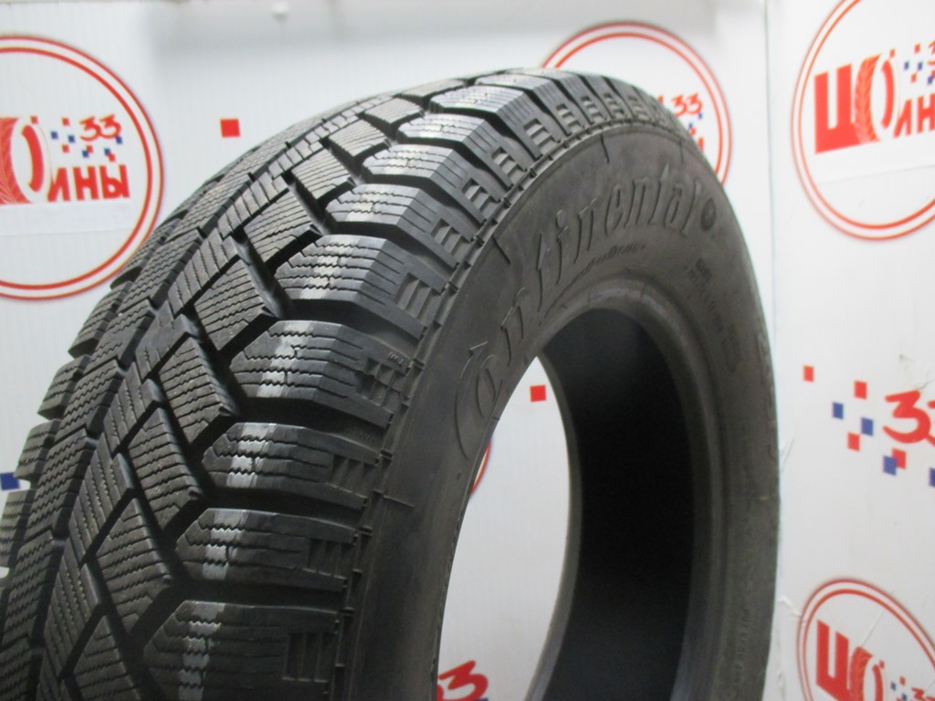 Б/У 205/70 R15 Зима CONTINENTAL C.Viking Contact-5 Кат. 3