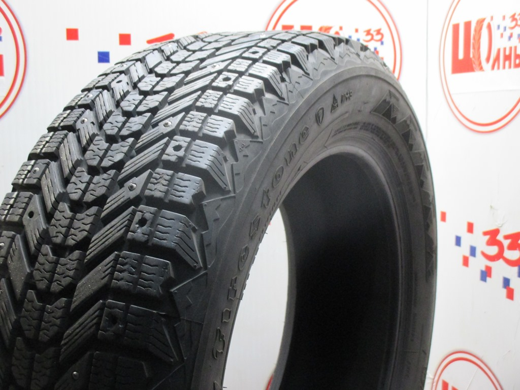 Б/У 225/60 R18 Зима Шипы  FIRESTONE Winterforce Кат. 3