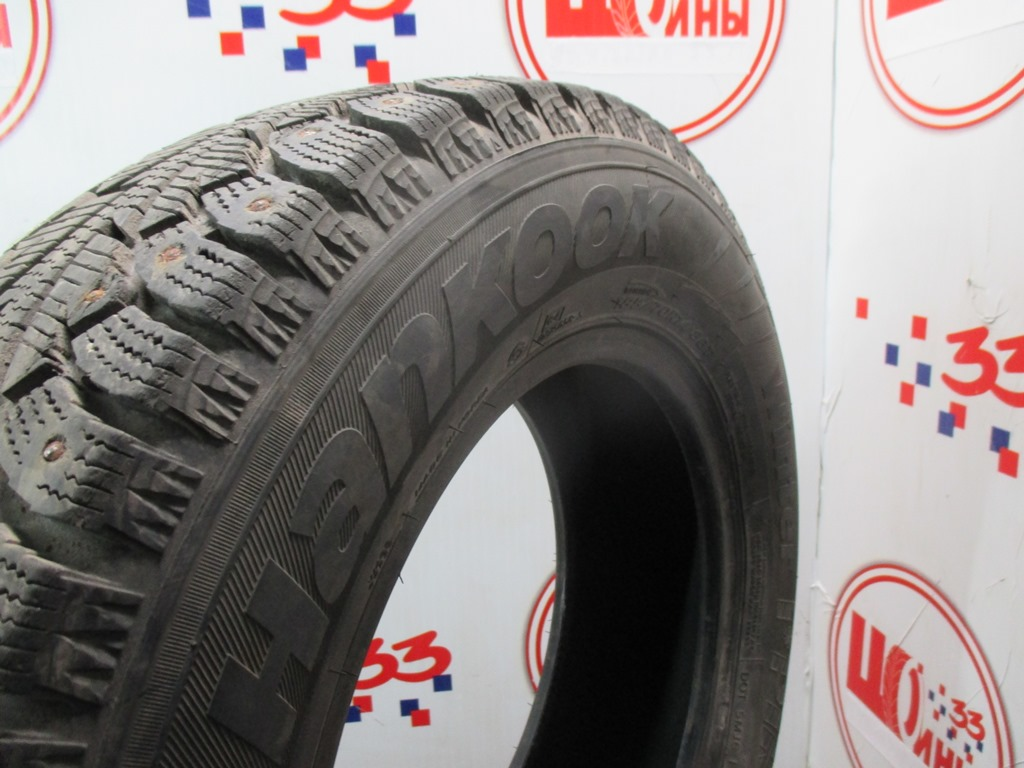 Б/У 185/70 R14 Зима Шипы  HANKOOK Winter I*Pike W-409 Кат. 3