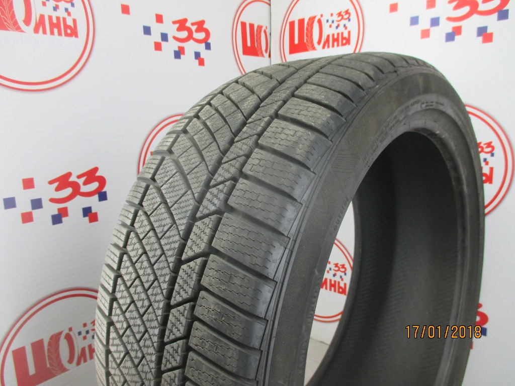 Б/У 255/40 R20 Зима CONTINENTAL C.Winter Contact TS-830 Р Кат. 2