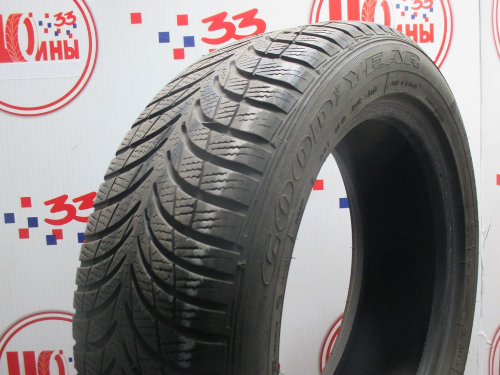 Б/У 195/55 R16 Зима GOODYEAR Ultra Grip-7 RSC Кат. 5
