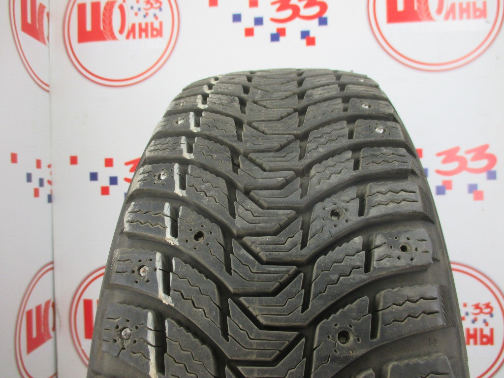 Б/У 195/55 R15 Зима Шипы  MICHELIN X-Ice North-3 Кат. 2
