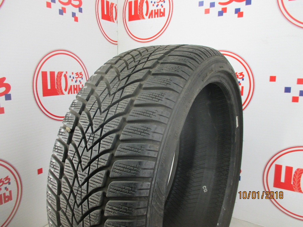 Б/У 225/40 R18 Зима DUNLOP SP Winter Sport 4-D Кат. 3