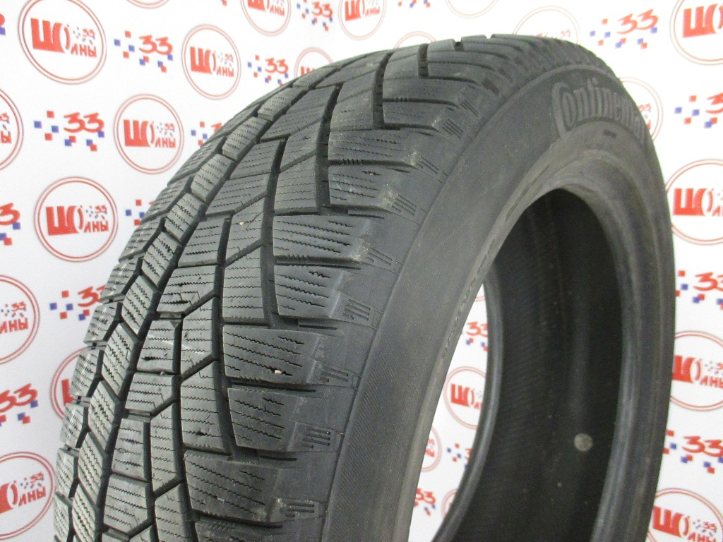 Б/У 235/55 R19 Зима CONTINENTAL C.Cross Contact Viking Кат. 4