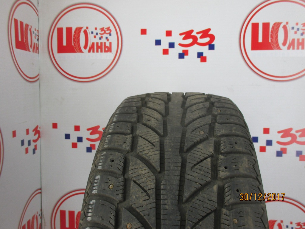 Б/У 235/55 R17 Зима Шипы  Cooper Weather Master WSC Кат. 5