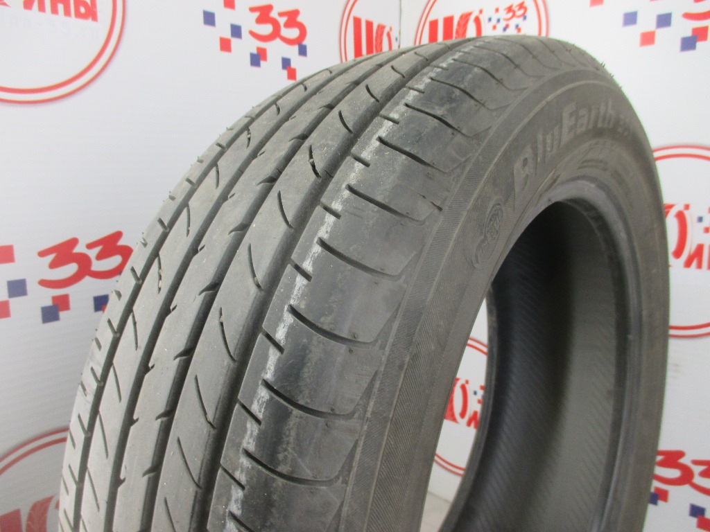 Б/У 225/60 R18 Лето YOKOHAMA Blu Earth E-51 Кат. 2