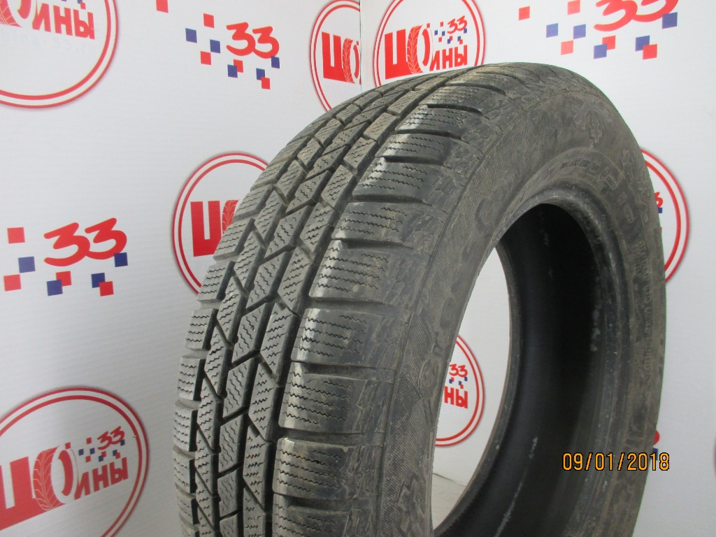 Б/У 235/60 R17 Зима CONTINENTAL C.Cross Contact Winter Кат. 3
