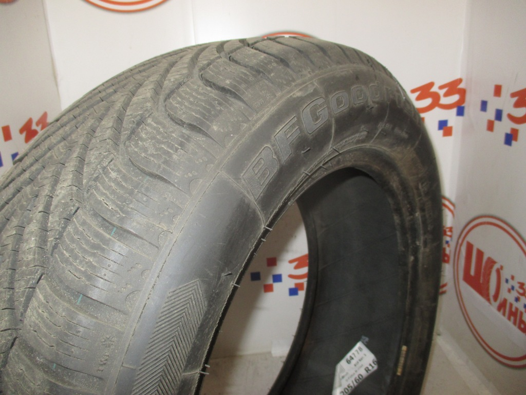 Б/У 205/60 R16 Зима BFGoodrich G-Force Winter Кат. 1