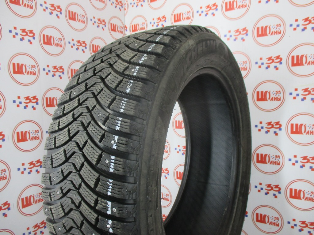 Б/У 235/55 R19 Зима MICHELIN Latitude X-Ice North-2 Кат. 2