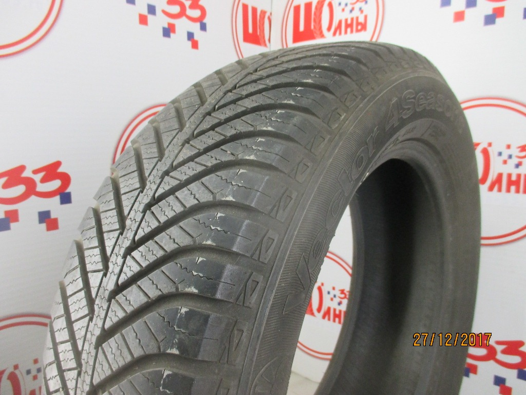 Б/У 215/60 R17 Зима GOODYEAR Vector 4 Seasons Кат. 4