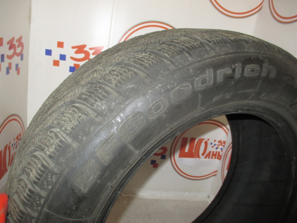 Б/У 215/55 R16 Зима BFGoodrich G-Force Winter Кат. 3