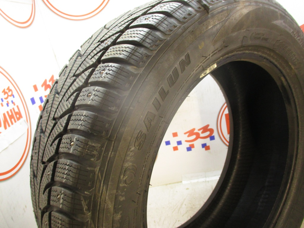 Б/У 235/55 R17 Зима Шипы  Sailun Ice Brazer WST1 Кат. 2