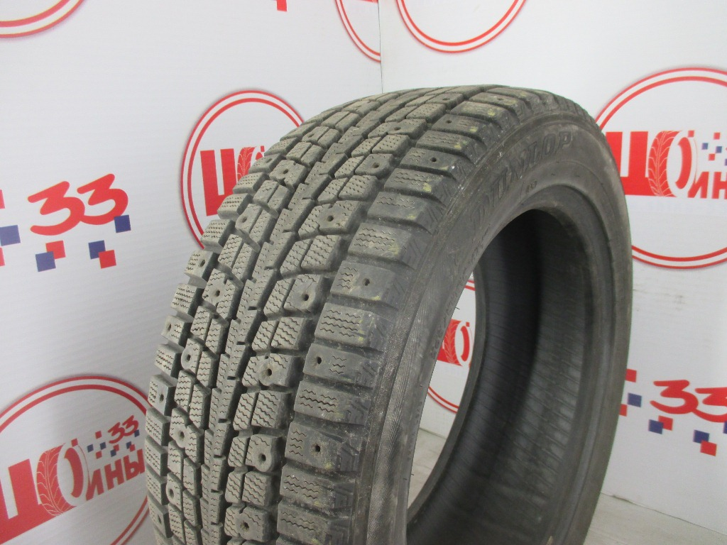 Б/У 205/55 R16 Зима DUNLOP SP Winter Ice-01 Кат. 4 (без шипов)