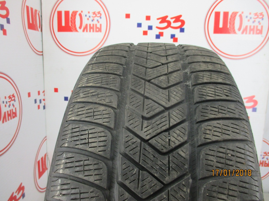 Б/У 255/45 R20 Зима PIRELLI Scorpion Winter Кат. 5