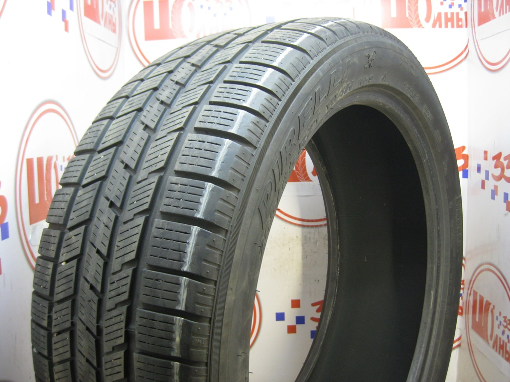 Б/У 265/45 R21 Зима PIRELLI Scorpion Ice & Snow Кат. 4