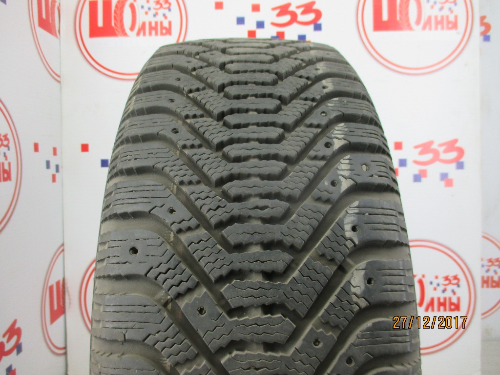 Б/У 215/55 R17 Зима Шипы  GOODYEAR Ultra Grip-500 Кат. 4