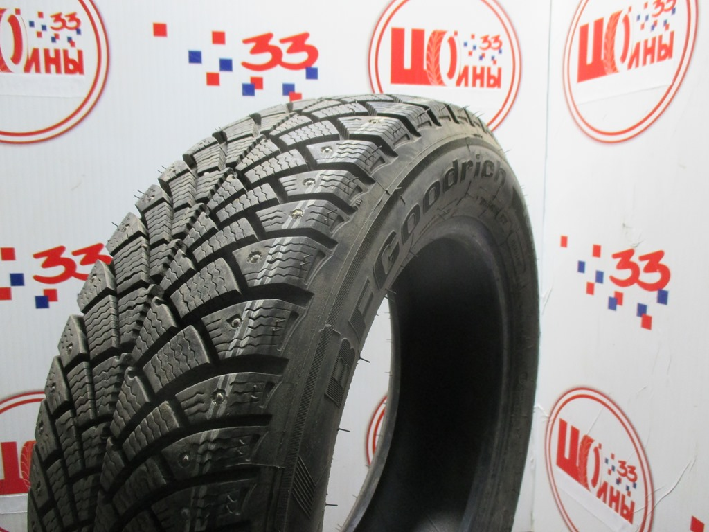 Б/У 195/65 R15 Зима Шипы  BFGoodrich G-Force Stud Кат. 3