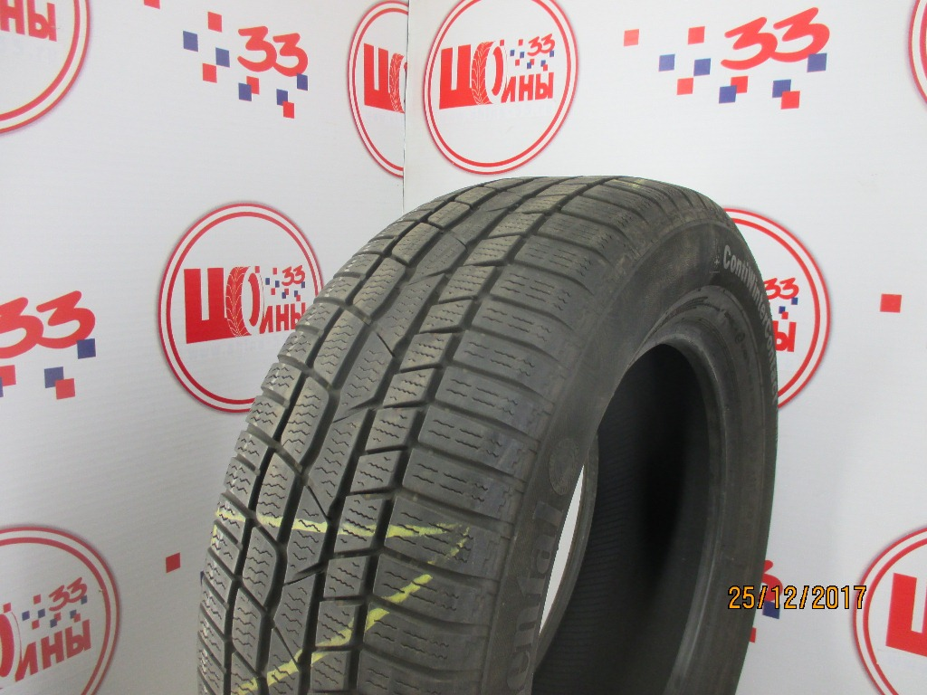 Б/У 225/60 R16 Зима CONTINENTAL C.Winter Contact TS-830 Р Кат. 4