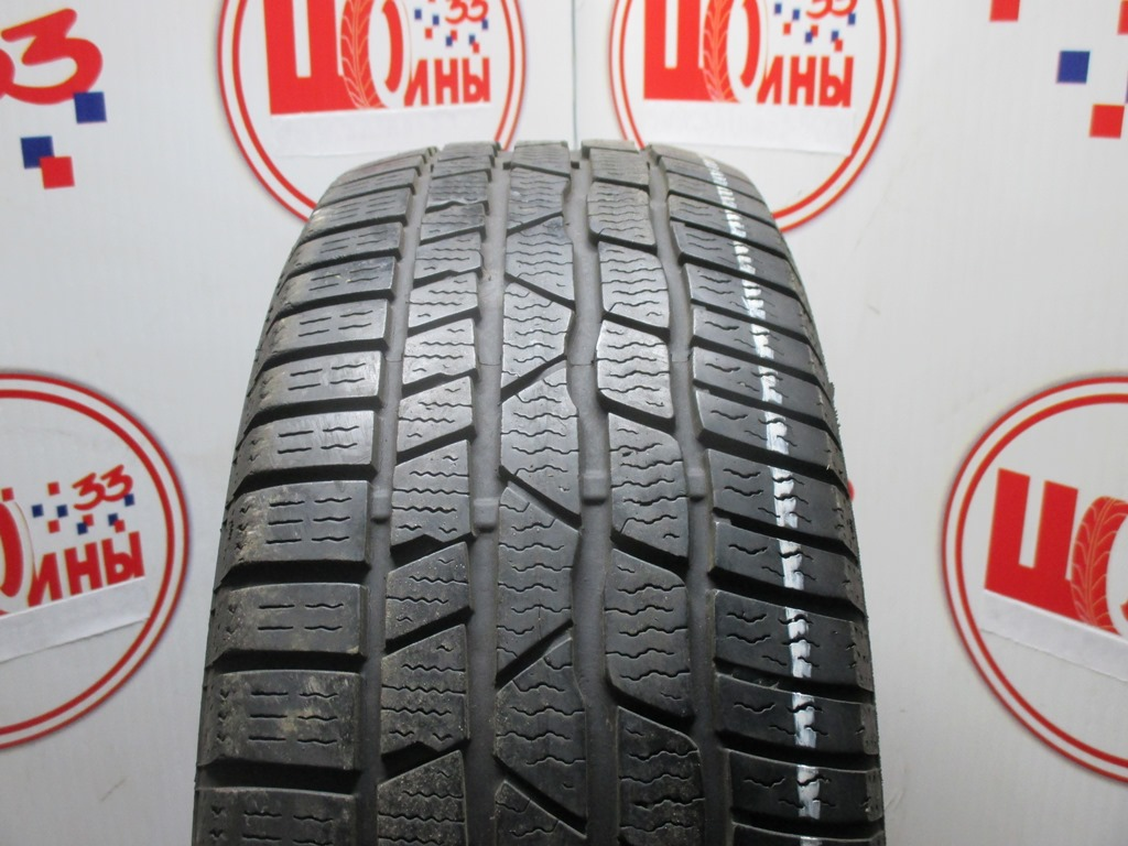 Б/У 205/60 R16 Зима CONTINENTAL C.Winter Contact TS-830 Р RSC Кат. 3