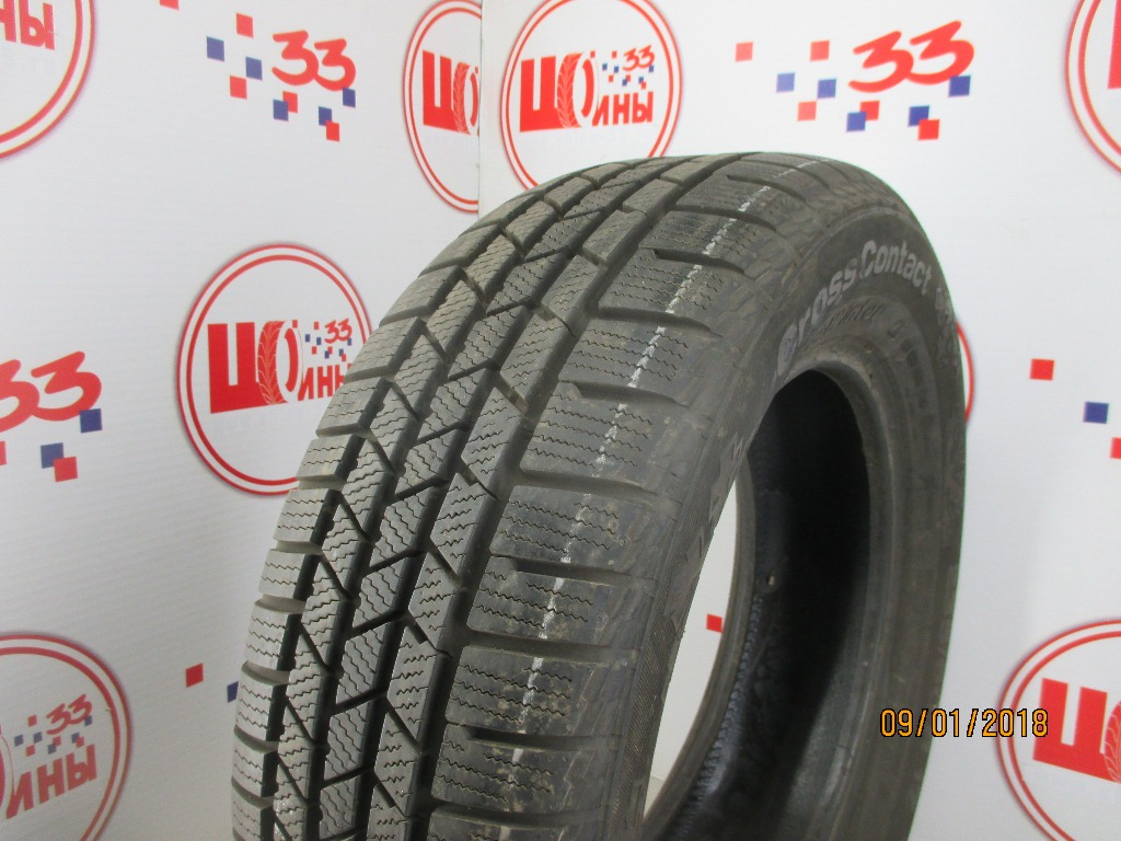Б/У 235/60 R17 Зима CONTINENTAL C.Cross Contact Winter Кат. 2