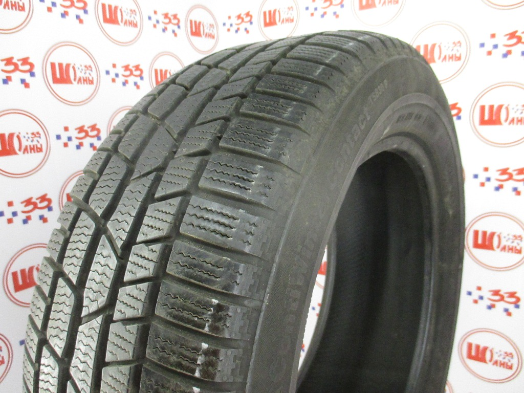 Б/У 235/55 R17 Зима CONTINENTAL C.Winter Contact TS-830 Р Кат. 4