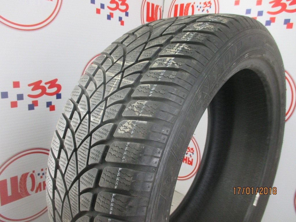 Б/У 255/45 R20 Зима DUNLOP SP Winter Sport 3-D Кат. 5