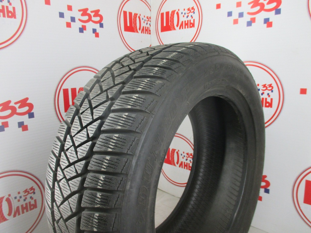 Б/У 235/55 R17 Зима DUNLOP SP Winter Sport M-2 Кат. 4