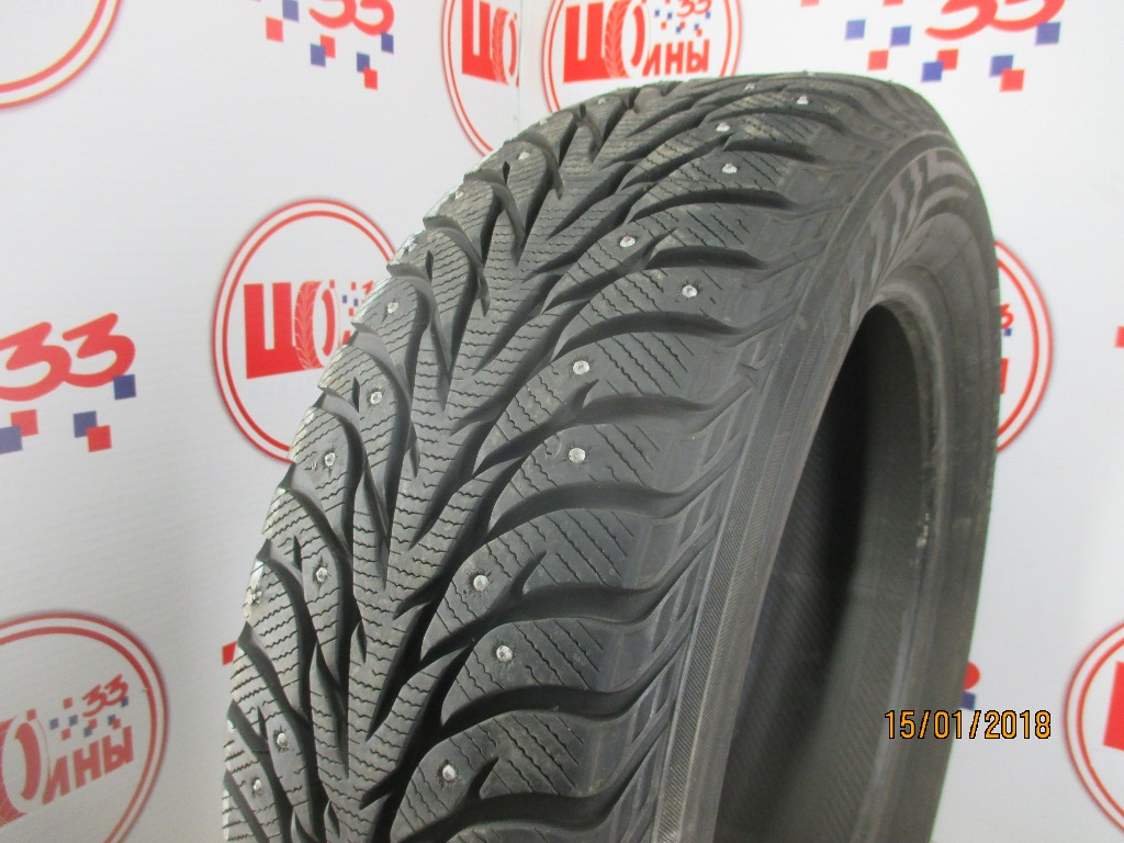 Б/У 225/60 R18 Зима Шипы  YOKOHAMA Ice Guard IG-35 Кат. 2