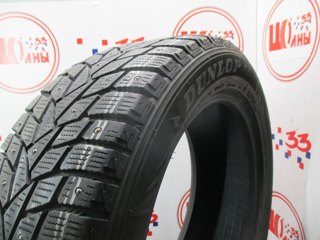 Б/У 245/50 R18 Зима Шипы  DUNLOP SP Winter Ice-02 Кат. 5