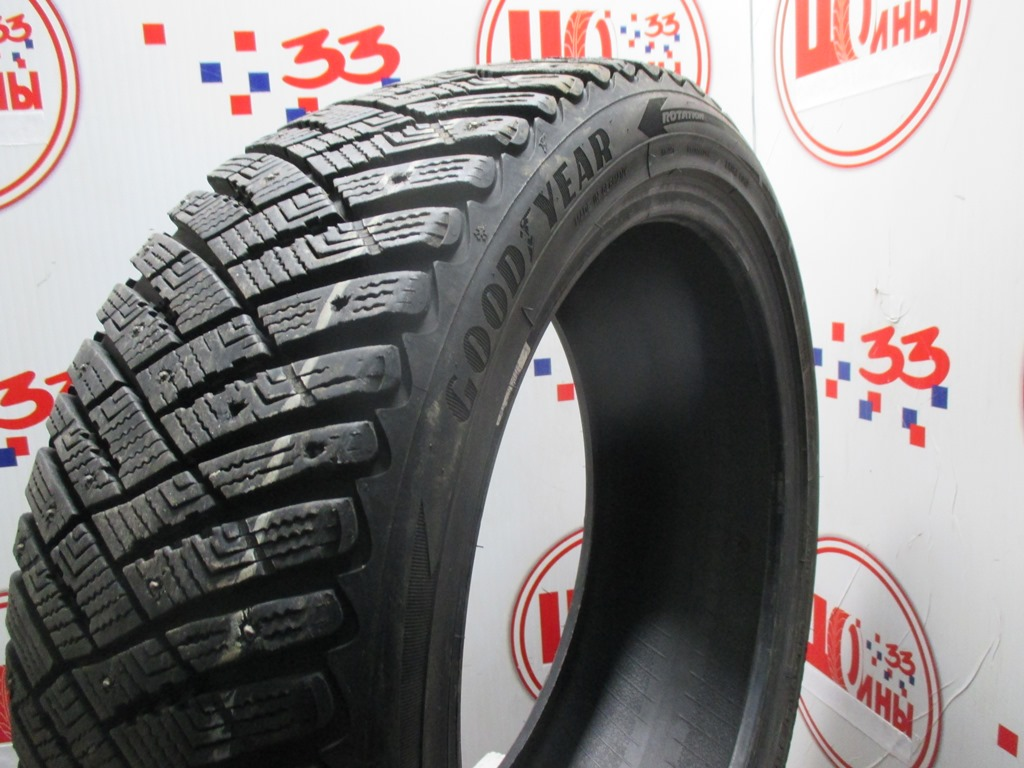 Б/У 225/45 R18 Зима Шипы  GOODYEAR Ultra Grip Ice Arctic Кат. 3