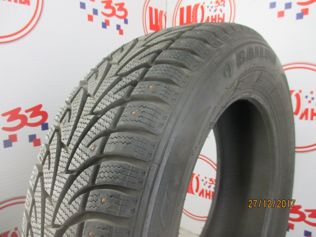 Б/У 215/65 R17 Зима Шипы  Sailun Ice Brazer WST1 Кат. 2