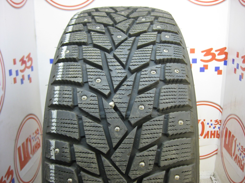 Б/У 245/45 R19 Зима Шипы  DUNLOP SP Winter Ice-02 Кат. 1