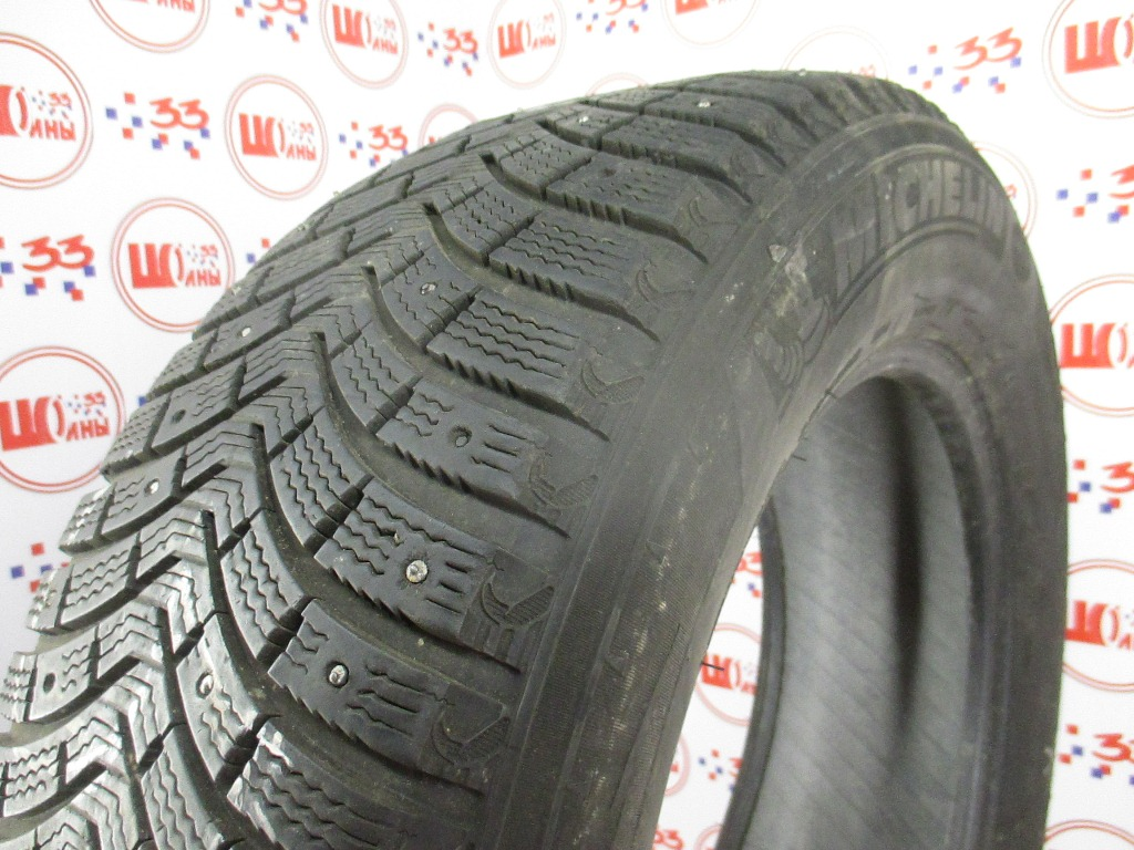 Б/У 235/65 R18 Зима Шипы  MICHELIN Latitude X-Ice North-2 Кат. 5
