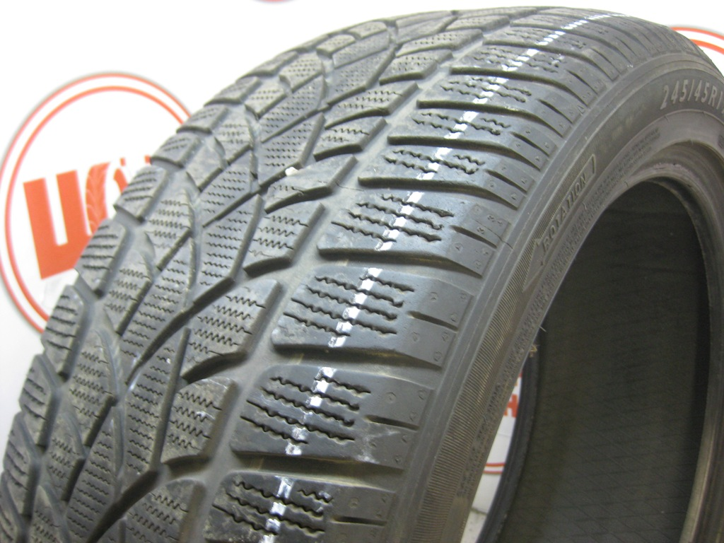Б/У 245/45 R19 Зима DUNLOP SP Winter Sport 3-D Кат. 3