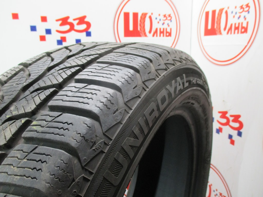 Б/У 225/55 R17 Зима UNIROYAL MS plus 66 Кат. 2