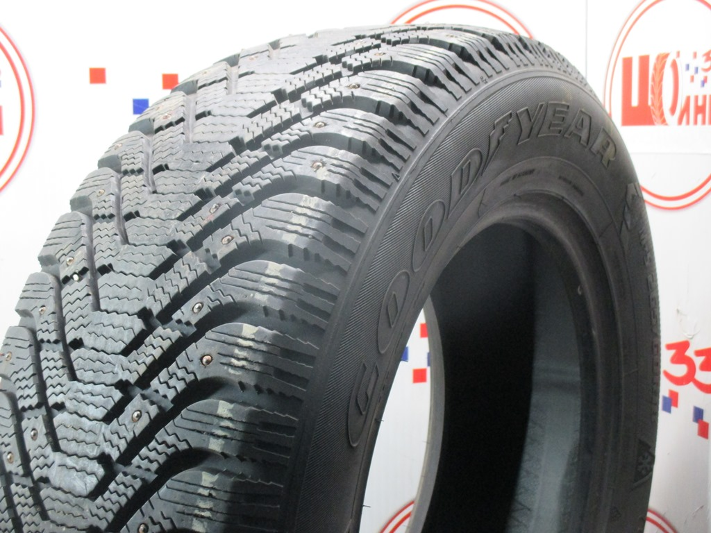 Б/У 265/60 R18 Зима Шипы  GOODYEAR Ultra Grip-500 Кат. 3