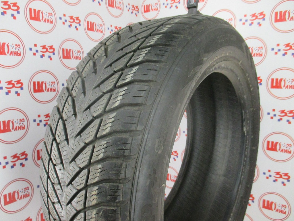 Б/У 255/55 R19 Зима GOODYEAR Wrangler Ultra Grip  Кат. 4