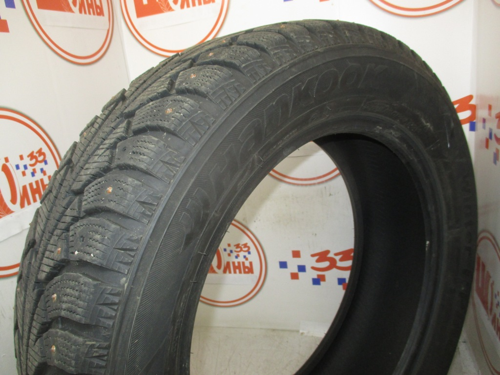 Б/У 225/60 R18 Зима Шипы  HANKOOK Winter I*Pike W-409 Кат. 4