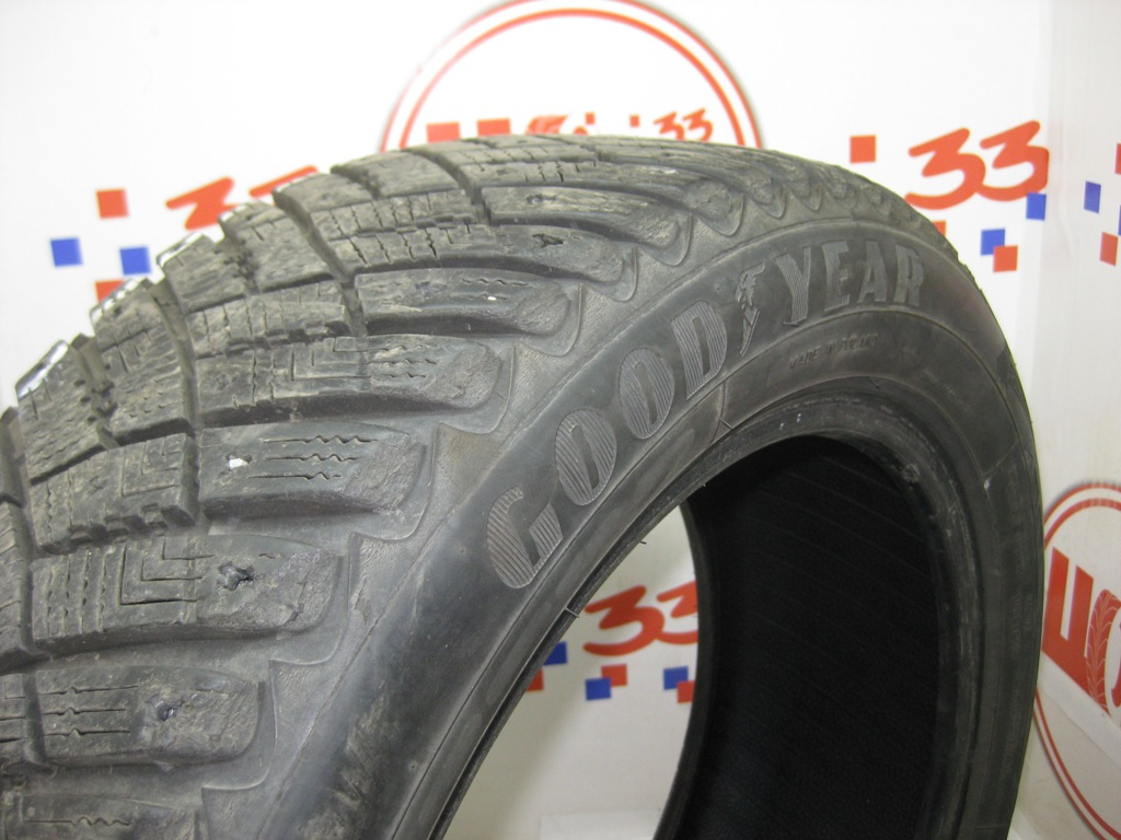 Б/У 195/55 R15 Зима GOODYEAR Ultra Grip Ice Arctic Кат. 3(без шипов)